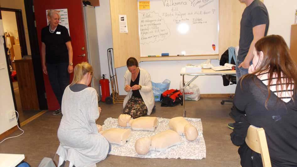Utbildning HLR och första hjälpen